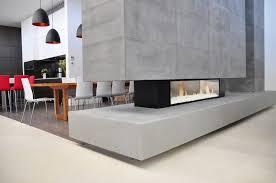 prepossessing home exterior decor introduces exquisite see through fireplace