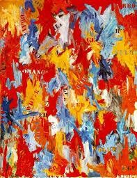 jasper johns false start 1959 abstract expressionism