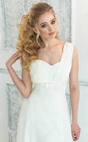 Mooie Bruid Kapsel Van Het Huwelijk En De Make Up