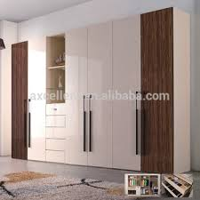 Matte Lacquer With Mirror Furniture Wardrobe DoorsGlossy White Simple Glossy White Bedroom Furniture