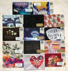 starbucks card canada and us enternment gift cards vouchers on carousell