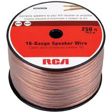rca 16 gauge speaker wire, 250' walmart com Rca To Speaker Wire Cable rca 16 gauge speaker wire, 250' speaker wire to rca cable adapter
