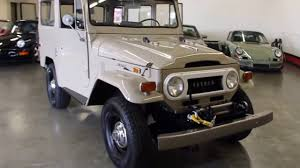 1970 Toyota FJ40 Land Cruiser For Sale at GT Auto Lounge - YouTube