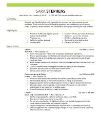 Just click on one of the resume examples below to get started on your resume  and take the next step toward winning the job today!