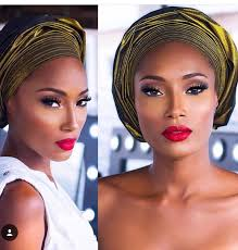 red lipstick on black skin photos