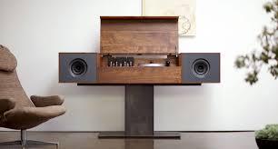 Cabinet Record Player Modern Record Console Symbol Audio