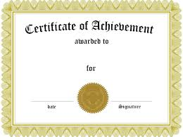 Certificate Of Achievement Template Word Soccer Certificate Templates for Word Professional and High 1
