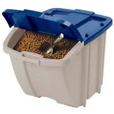 Stackable-Front-Access-Pet-Food-Storage-Bin-Dog- Stackable Front Access Pet Food Storage Bin Dog Container Holds