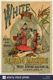 Sewing Machine 19th Century Stock Photos & Sewing Machine 19th ... & Circa 1890s Victorian trade card, The White Sewing Machine Co, Cleveland,  Ohio. Adamdwight.com