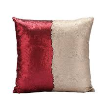 red and teal pillows. Exellent Red Home Textiles  Throws U0026 Pillows Mermaid Pillow Cover ChampagneRed  Change Color Sequins Cushion Inverted Flip Sequin On Red And Teal W