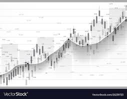 Candle Chart For Stock Stock Market And Exchange Business Candle Stick