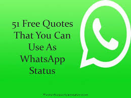 Status Quotes Stunning 48 Free Quotes For WhatsApp Status