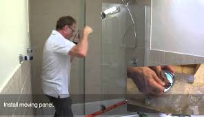 basco corner fold glass sweep single sea hinged wheels frameless tubshower shower door panel swing trackless