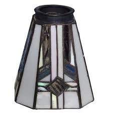 patriot lighting reg square tiffany replacement glass with 2 1 4 fitter