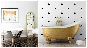 fresh shades of bathroom design colorful clawfoot tubs costruction2style