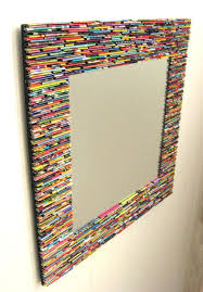 Diy mirror frame ideas Decorative Old Mirror Frame Ideas Throw Away That Broken Picture Frame Here Are Amazing Ways Enigmesinfo Old Mirror Frame Ideas Decorating Bathroom Mirrors To Remove Old