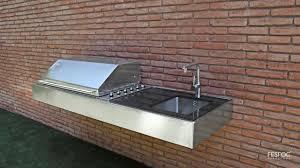 Complete Outdoor Kitchen Complete Outdoor Kitchen Bbqs Ebay