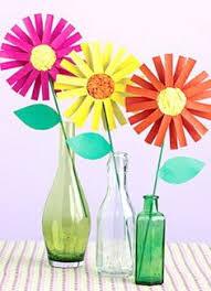 Paper Flower Crafts For Kindergarten 156 Best Preschool Flowers Images Kindergarten Activities For