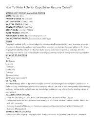 Resume Editor Online Resume Samples Online Online Resumes Samples Magnificent Online Resume Editor