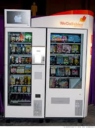 Baby Vending Machine Impressive Innovation In Vending Machines Oops Forgot The Diapers And