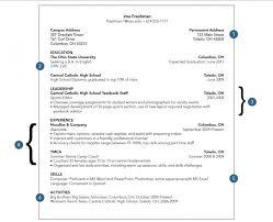 College Freshman Resume Template College Resume 2017 Example Of College  Resume Template