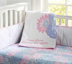 emma quilt pink pottery barn kids intended for modern residence emma crib bedding set plan