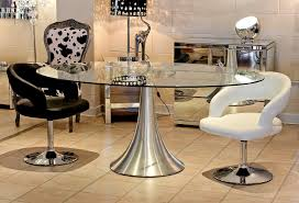 bathroom fabulous modern pedestal dining table 21 room mind blowing furniture for decoration using oval glass