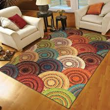 fashionable multi colored area rug wonderful bedroom rugged popular round rugs in bright colored area for