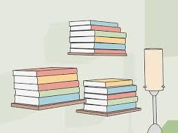 3 ways to organize a bookshelf wikihow