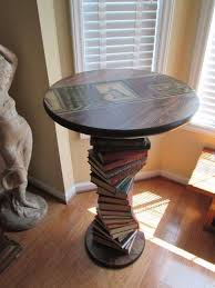 book coffee table furniture. Put Your Spare Books To Good Use With This End Table. Book Coffee Table Furniture