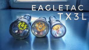 <b>Фонарь EagleTac</b> TX3L. Модель 2019 года - YouTube