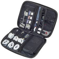 Amazon.com | Smart Electronics Organizer Travel Case for Cable, Cord,  Adapter, External Battery, Car Charger, Laptop Computer Accessories - Best  Portable ...