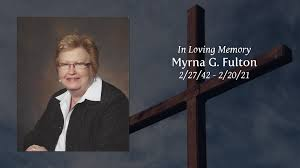 Obituary | Myrna G. Fulton of Crown Point, Indiana | Smits Funeral ...