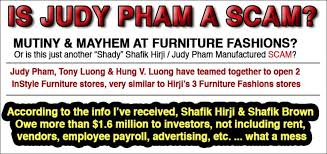 in style furniture. InStyle Furniture Inc., Judy Pham \u0026 Family \u2013 Tony Luong, Hung V. Luong Have All Been Part Of The Shafik Nominee Train In Style