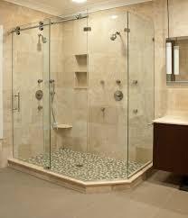 bathroom shower doors. Matrix Series Frameless Slider Shower Door/ Enclosures By GlassCrafters Inc Contemporary-bathroom Bathroom Doors D