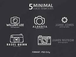 Photographer Logos 5 Free Minimal Photography Logos By Mohammad Usama Dribbble