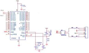 how to interface ps 2 8051 advanced development board circuit diagram to interface ps 2 8051
