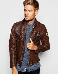 pepe jeans pepe leather biker jacket guzzi zip thru