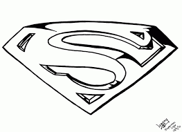 Small Picture Superman Coloring Logo Free Coloring Pages On Masivy World