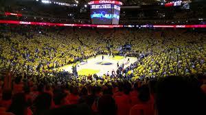 Oakland Warriors Seating Chart Golden State Warriors Seating Chart Map Seatgeek