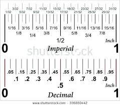 Fraction To Decimal Chart 1 32 Tape Measure Decimals Inmotionstudio Com Co