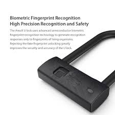 Xiaomi AreoX <b>Fingerprint</b> U Shape Lock U8 <b>Anti</b>-<b>theft Bicycle</b> ...