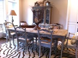 elegant country dining room furniture round french dining