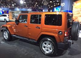 2018 jeep wrangler 4 door at the 2018 new york auto show