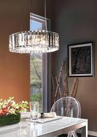kichler lighting chandelier 43186 aub grand bank 5 light linear crystal large 8 polished chrome