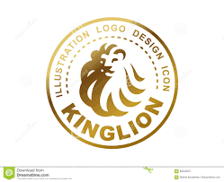 Emblem Design Lion Head Logo Vector Illustration Emblem Design Stock