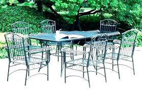 White wrought iron garden furniture White Painted Vintage Iron Patio Furniture Wrought Amazing Outdoor For Pier One Metal Collection Cast Old Fashioned Meta Elaiaezine Vintage Iron Patio Furniture Cast Dining Room Set Wrought Metal