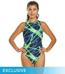 Waterpro Womens Lightning Water Polo One Piece Swimsuit