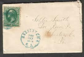 1875 cover Moorestown NJ to Sallie Smith Doe Run PA DPO Chester County |  eBay