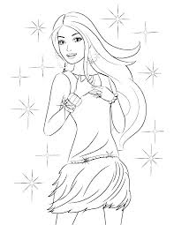 Barbie Coloring Pages That You Can Print Barbie Color Pages Barbie